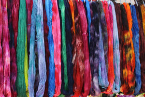 Yarn at the Maryland Sheep and Wool Festival
