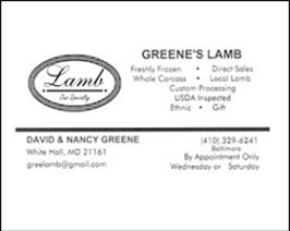 Greene's Lamb