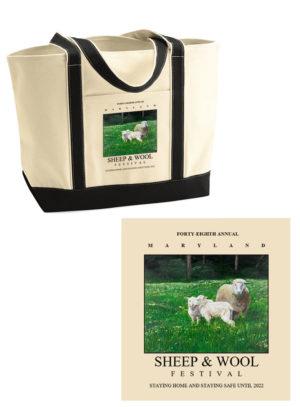 Sample of tote bag