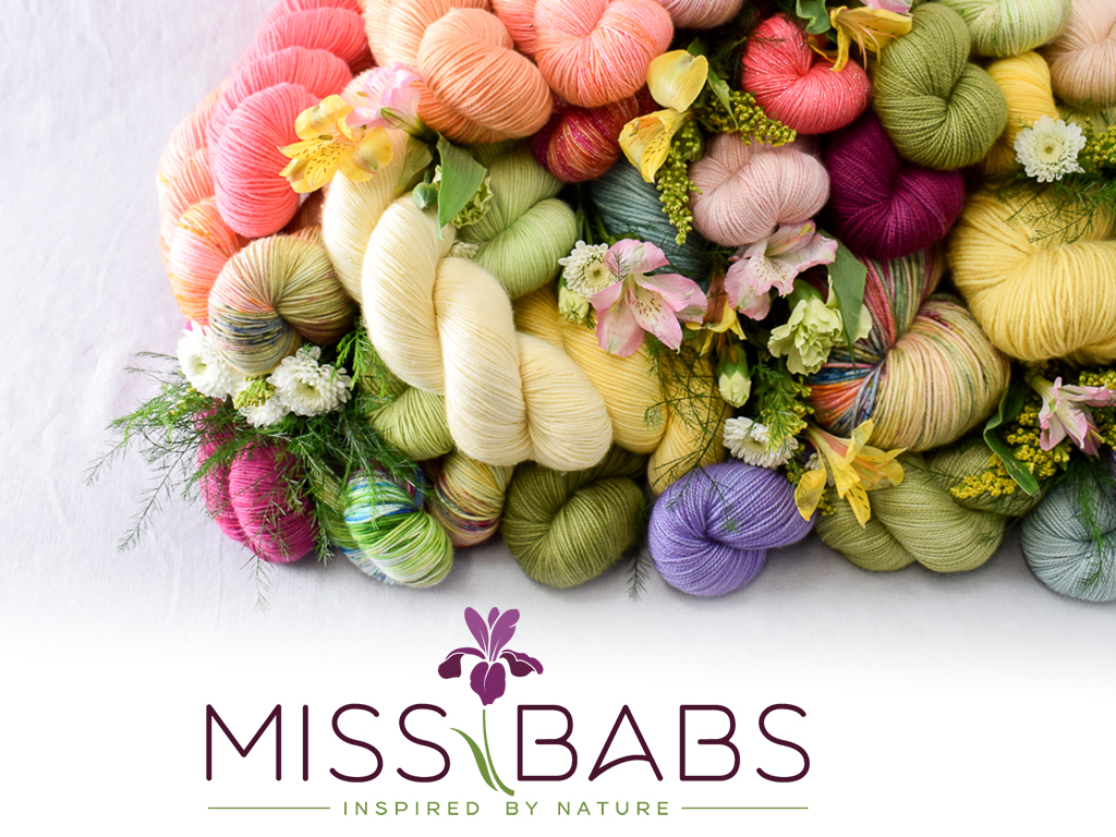 Miss Babs Hand Dyed Yarns & Fibers